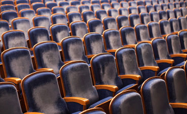 Photo of seating - Briggs Opera House